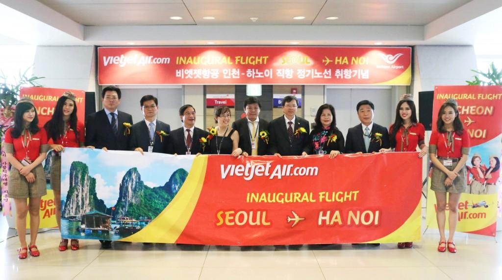 Đường bay seoul Hà Nội