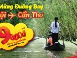 [Khuyến mãi Vietjet] Vé máy bay từ Hà Nội đi Cần Thơ giá chỉ 9000 VNĐ