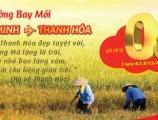 Vé máy bay đi Thanh Hóa giá 0 đồng