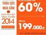 Jetstar giảm đến 60% giá vé trong Ngày hội mua sắm trực tuyến