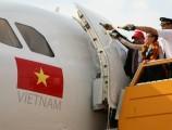 Chào đón đoàn công tác và tàu bay mới VN-A658 cùng Vietjet