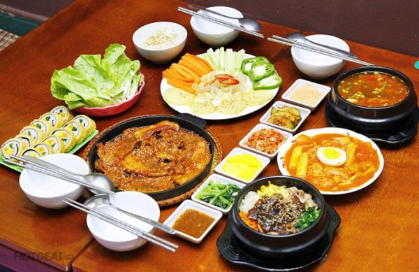 Món ngon Hàn Quốc nổi tiếng tại Seoul