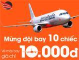 Jetstar Vé máy bay giá 10.000 đồng