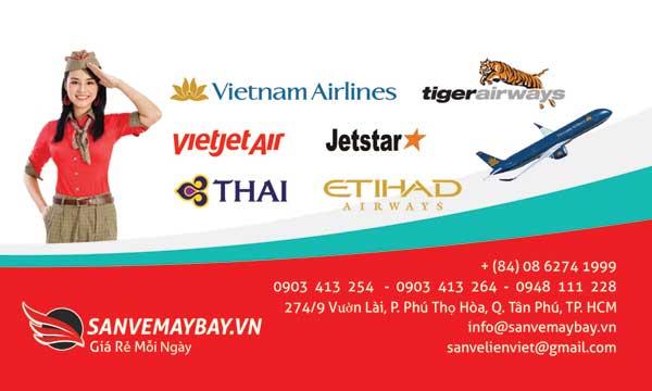 Vé máy bay Liên Việt Tân Phú