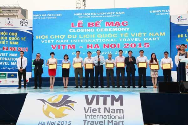 Lễ bế mạc VITM 2015