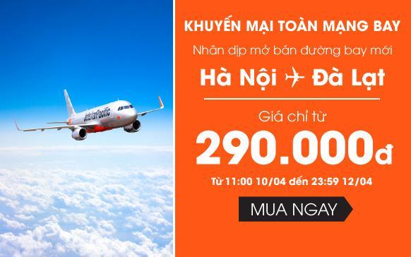 Vé máy bay khuyến mãi Jetstar tháng 5