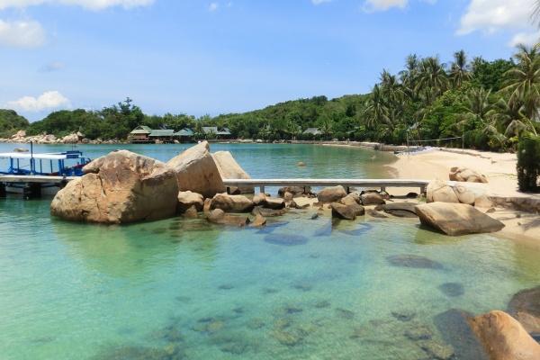 Cảnh đẹp trên vịnh Vân Phong