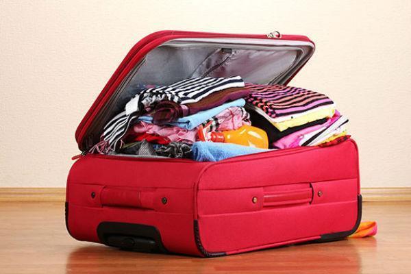 Bạn nên kiểm tra trọng lượng tất cả đồ đạc mang theo