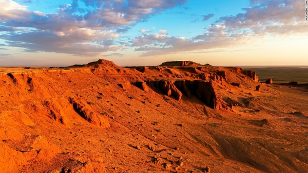 The Flaming Cliffs