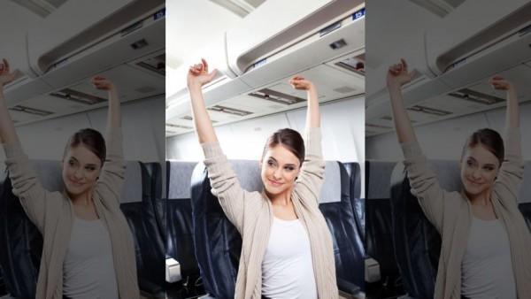 Vận động khi đi trên chuyến bay dài