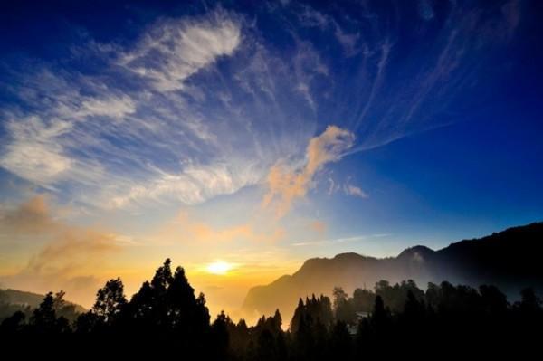 Cảnh đẹp hơn tranh vẽ mà thiên nhiên ban tặng.