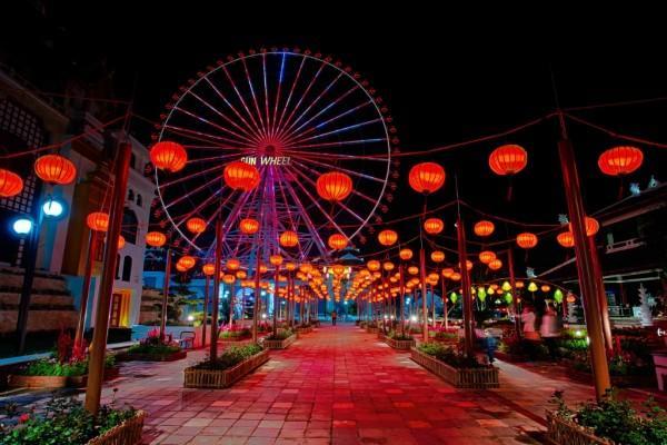 Săn vé giá rẻ đón trung thu trên phố đèn lồng Đà Nẵng