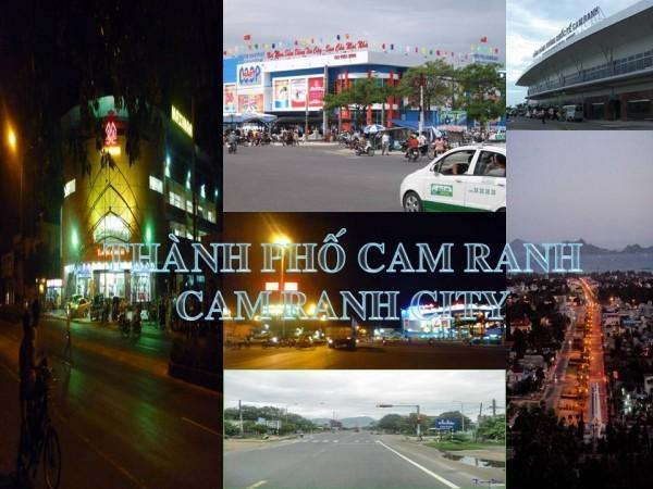 Thành phố Cam Ranh toạ lạc ở vị trí địa đầu phía Nam của tỉnh, Bắc giáp huyện Cam Lâm, phía Tây giáp huyện Khánh Sơn, phía Nam giáp tỉnh Ninh Thuận, ...