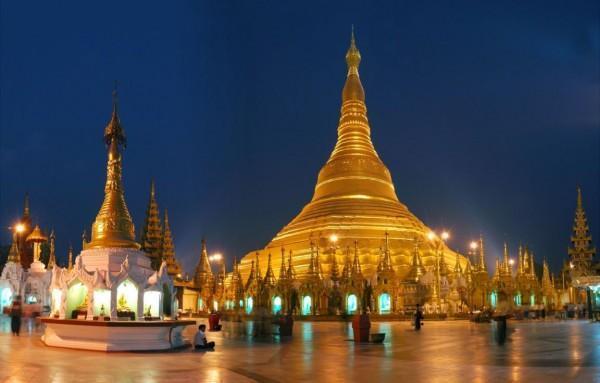 Chùa Shwedagon thủ đô Yangon