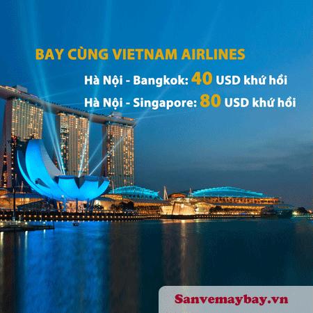 Săn vé máy bay giá rẻ đi Bangkok