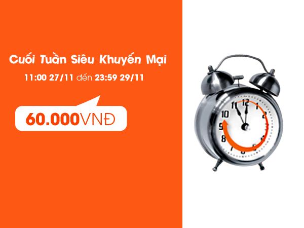 Vé máy bay giá rẻ chỉ từ 60.000 đồng
