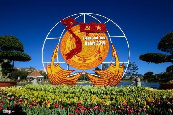 Vé máy bay đi Đà Lạt tham dự Festival hoa
