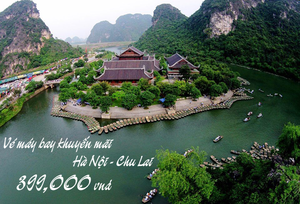 Vé máy bay Hà Nội đi Chu Lai khuyến mãi cực sốc chỉ 399k