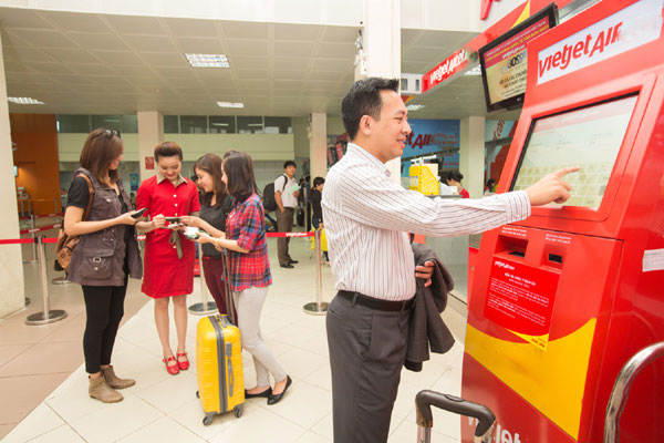 Hướng dẫn check in trực tuyến của hãng VietJetAir
