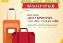 Cước phí hành lý ký gửi của Vietjet Air