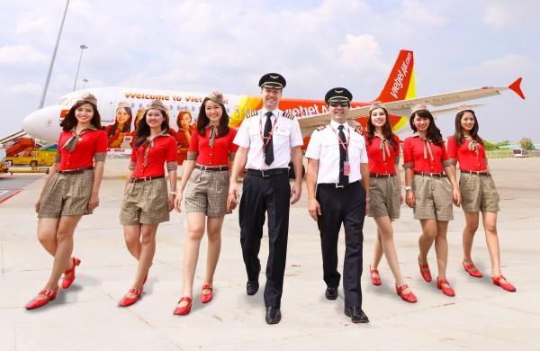 Đội bay của Vietjet ngày càng chuyên nghiệp và nhận được cảm tình từ hành khách