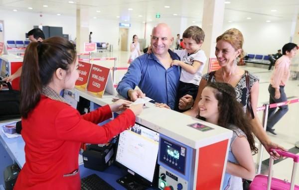 Dù giá vé như thế nào, sự phục vụ trên các hành trình bay đều như nhau