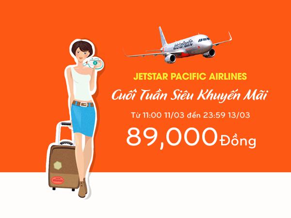 Jetstar bung lụa với bạt ngàn vé máy bay giá rẻ