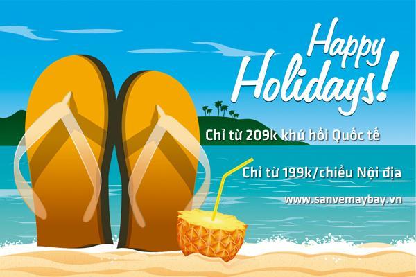 Ngày hè sôi động cùng loạt vé giá rẻ của Vietnam Airlines