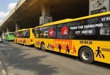 Chính thức mở tuyến xe buýt từ sân bay vào thành phố