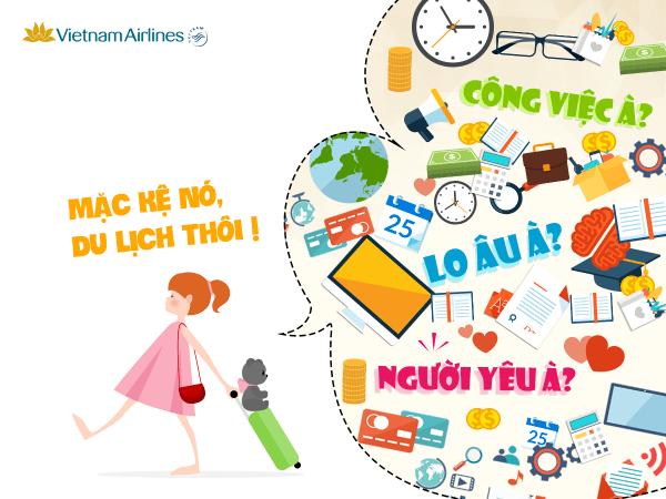 Bay thỏa sức cùng loạt vé máy bay giá rẻ của Vietnam Airlines