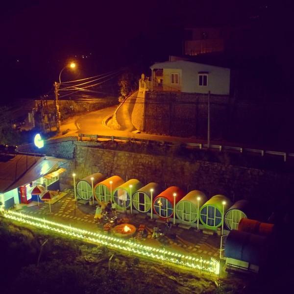 Circle Hostel về đêm