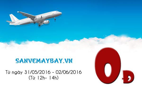 Vietjet Air tiếp tục mở bán vé máy bay giá rẻ 0đ