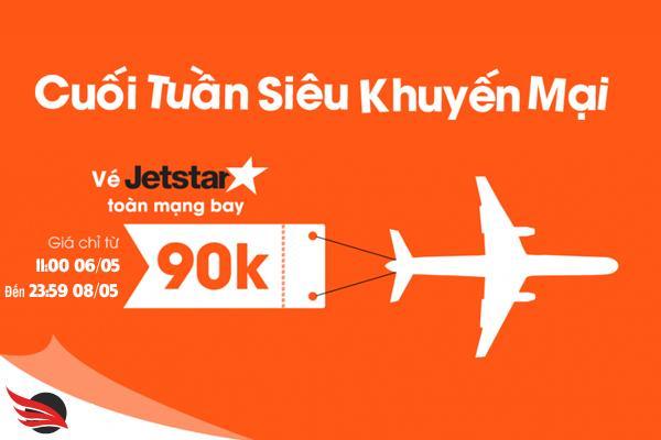 Mừng đường bay mới vé máy bay khuyến mãi cuối tuần chỉ từ 90000 đồng