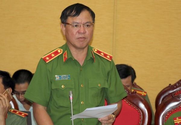 Trung tướng Trần Văn Vệ, Phó Tổng Cục trưởng Tổng Cục cảnh sát. Ảnh: B.C.