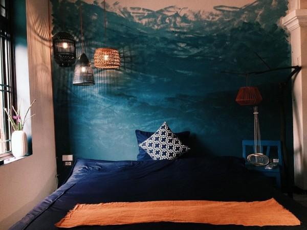 Phòng ngủ đơn giản mà xinh xắn