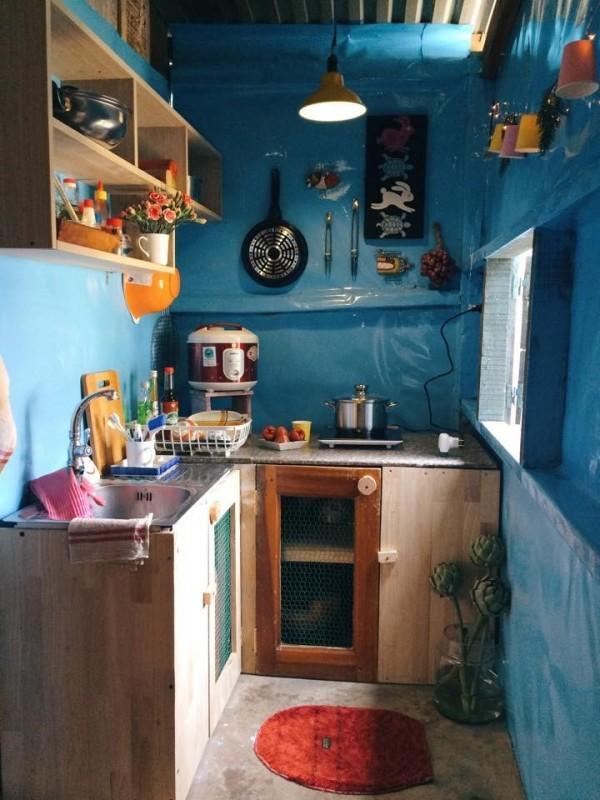 Khu bếp nhỏ xinh