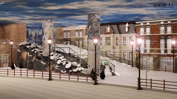 Sài Gòn lần đầu xuất hiện Thị trấn tuyết