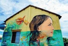 Làng bích họa đầu tiên ở Việt Nam