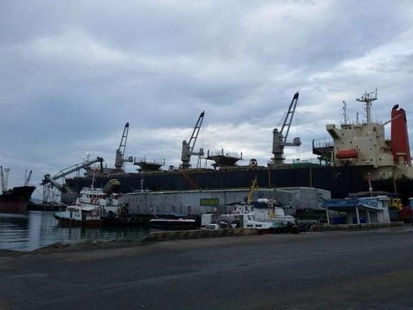 Bến tàu ra đảo Bình Ba