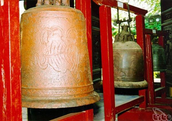 Chuông cổ ở bảo tàng lịch sử Hội An
