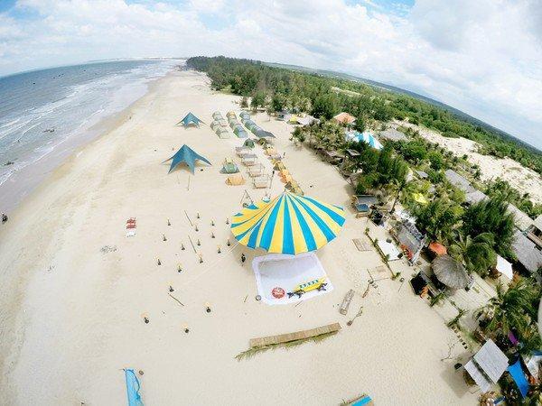 Toàn cảnh của Coco Beach Camp