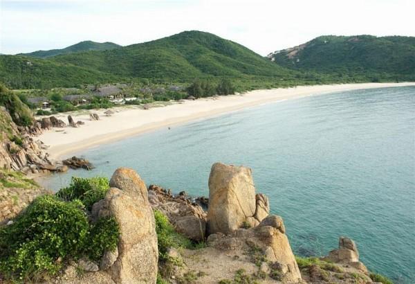 Vẻ đẹp thơ mộng bãi biển Vinh Xuân Đài