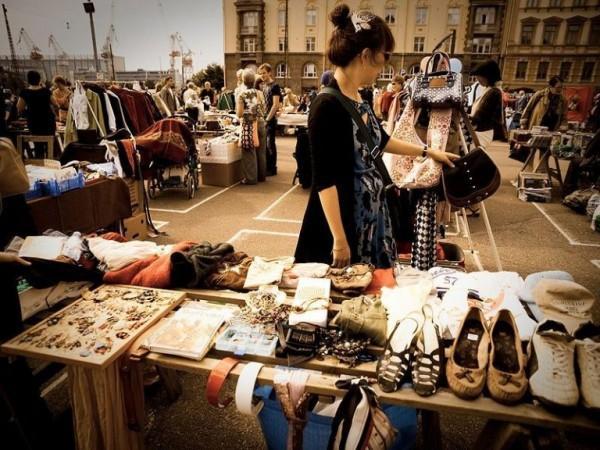 Những phiên chợ Flea Market nhộn nhịp