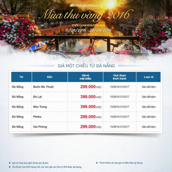 Săn vé máy bay giá rẻ đi Đà Nẵng