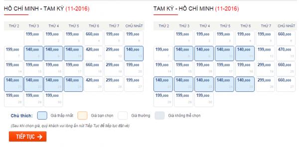 Săn vé máy bay giá rẻ đi Chu Lai