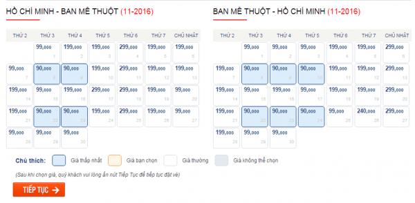 Săn vé máy bay giá rẻ đi Buôn Ma Thuột
