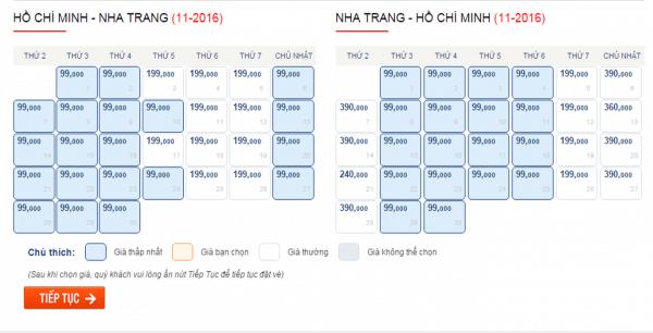Săn vé máy bay giá rẻ đi Nha Trang