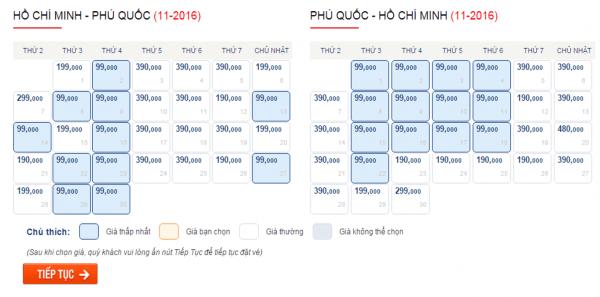 Săn vé máy bay giá rẻ đi Phú Quốc