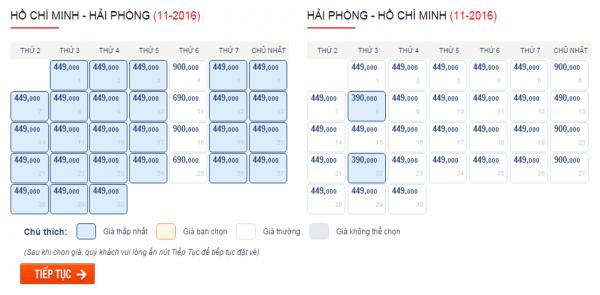 Săn vé máy bay giá rẻ đi Hải Phòng