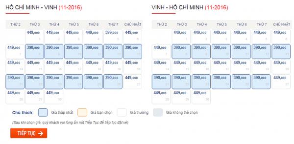 Săn vé máy bay giá rẻ đi Vinh